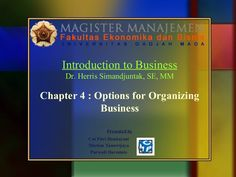 chapter-4-options-for-organizing-business-group-9 by Purwedi Darminto via Slideshare