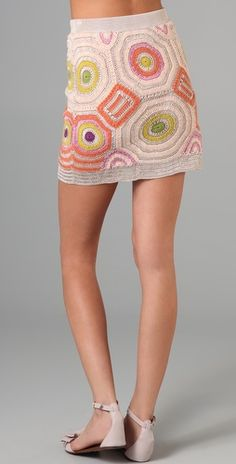 Twenty8Twelve Auriole Crochet Skirt | SHOPBOP