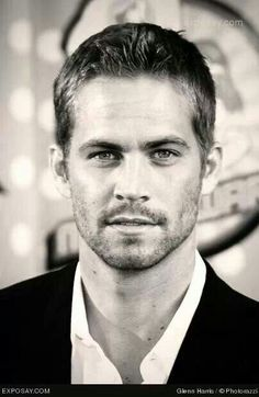 Paul Walker- 1973-2013. Age 40 Injuries sustained from single-vehicle collision.  Beautiful Person Inside and OUT!  ~Gone to Soon~