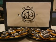 Divergent Themed party.  Candor- Honestly Good cookies. :)