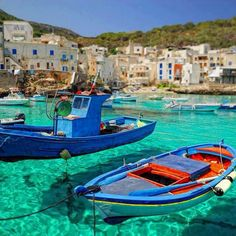 """Levanzo is famous for the """"Grotta del Genovese"""" with Neolithic cave paintings and Palaeolithic graffitoes.  Via fefluke (Tumblr) and Wikipedia."""