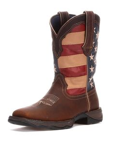 Durango Women's Lady Rebel Patriotic Cowgirl Boot http://www.countryoutfitter.com/products/30348-womens-lady-rebel-patriotic-boot #cowgirlboots