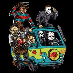 The Massacre Machine Halloween Horror - Good Thing They Didn't Let Chucky Drive! - Neatorama
