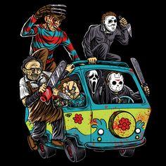 The Massacre Machine Halloween Horror - NeatoShop