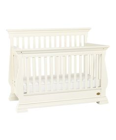 Take a look at this Rubbed Snowdrift Toscana Convertible Crib Set by Capretti on #zulily today!