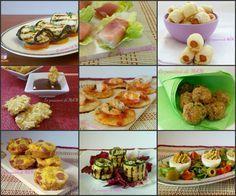 Ricette finger food, tante idee per antipasti o aperitivi o per il buffet delle feste, battesimo, cresima, comunione, compleanno. Blog Giallo zafferano