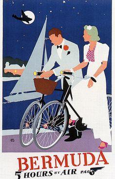 Bermuda vintage poster