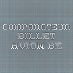 comparateur.billet-avion.be