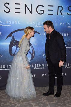 Jennifer Lawrence and Chris Pratt Passengers premiere
