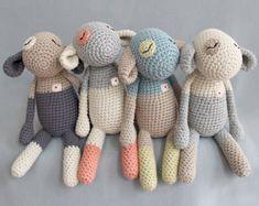 """Unschulds Lamb"" - crochet amigurumi critter by eineIdee for sale on Etsy Softies, Amigurumi Patterns, Crochet Patterns, Amigurumi Toys, Knitting Patterns, Little Cotton Rabbits, Original Design, Crochet Instructions, Stuffed Toys Patterns"