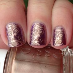 I just threw 'nail stamping' into the search bar so this is pin no. 2 of eighty hojillion (est.) coming up.