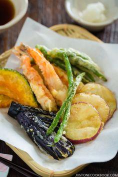 gluten free tempura | Easy Japanese Recipes at JustOneCookbook.com