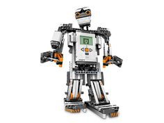 "The ""NXT"" generation of buildable, programmable robots is here!"