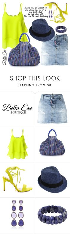 """""""BellaEve"""" by jecakns ❤ liked on Polyvore featuring ban.do, Dsquared2, Doublju, ALDO, Lauren Craft and NOVICA"""