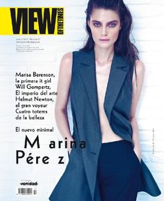 Model Marina Perez gets shot for View of the Times Magazine by Fast Management photographers Andoni & Arantxa.