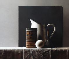 Vokert Olij, Tricoplast oil on wood 70 x 81 cm