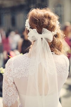 #paulinedrom #couronnedefleur+voile Notre mariage | Mariages Cools Mariage | Queen For A Day - Blog mariage