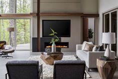 Tour a Northwest contemporary home filled with inviting warmth in Oregon