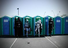 Even the Evil Empire needs to go poo-poo sometimes....
