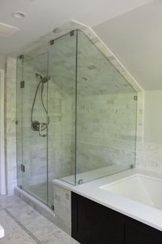 Shower for the attic.