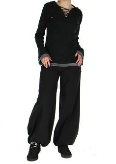 """Ce t-shirt à manches longues original """"Tinger"""" est disponible en noir, gris et bleu sur www.akoustik-online.com"""