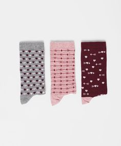 Pack of arrow pattern socks - OYSHO