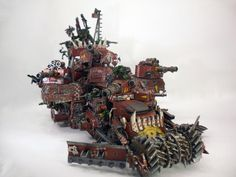Battle Fortress, Battlewagon, Custom, Orks, Super-heavy - Gallery - DakkaDakka | Because the internet is serious business.