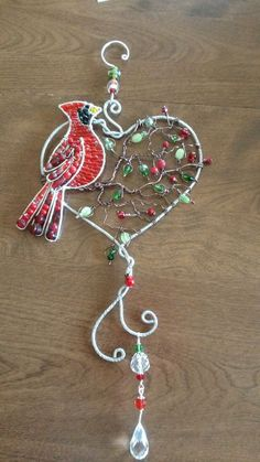 Image result for Wire Wrap and Beaded Christmas Tree