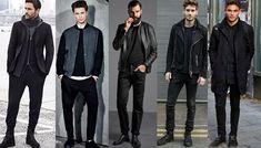Moda masculina: como usar tudo preto com estilo | MHM