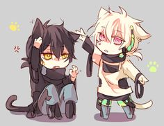 Kagerou Project, Mekakucity Actors, Kuroha and Konoha
