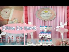 FESTA INFANTIL / TEMA BAILARINA - YouTube