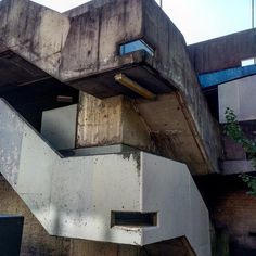 Accidental Brutalistic design beauty in this ugly suburban car park staircase. #brutalism #brutaldesign #accidentalbeauty #brutalistarchitecture #brutalist #brutalism by liddle_apples