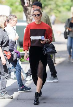 Olivia Palermo out in New York - October 2017