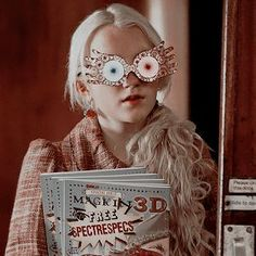 luna lovegood [hp d&d] 🦅 Harry Potter Tumblr, Photo Harry Potter, Images Harry Potter, Estilo Harry Potter, Mundo Harry Potter, Harry Potter Icons, Harry Potter Cast, Harry Potter Fandom, Harry Potter Characters