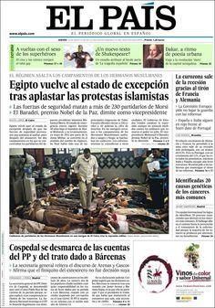 Consulta todas las noticias de EL PAÍS en www.elpais.es