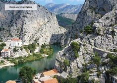 Omis and river Cetina only 25 km south of Split capital. It's the famous rafting and climbing spot with beautiful sandy beaches!
