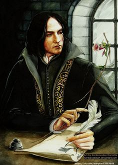 Snape fan art. o-o