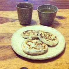 梅ヶ枝餅 | My homemade Fukuoka sweet 'Umegae-mochi'