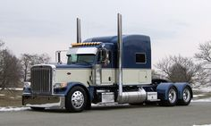 """Over the years, Jeremy has had a couple cool Peterbilts, and even once, in a """"weak moment"""" (as Clint puts it), he bought a 2011 Kenworth W900L with a Studio sleeper. Description from tenfourmagazine.com. I searched for this on bing.com/images"""