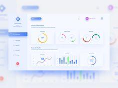 A dashboard UI design concept/experimentation. Dashboard Ui, Dashboard Design, Design Thinking, Fluent Design, Design Ios, Website Design Layout, Ui Design Inspiration, Ui Web, Web Banner