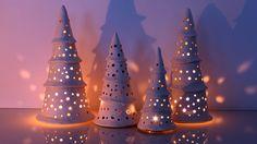 """Keramik Weihnachtsbaum/Ceramic Christmas Tree mit """"Terra Sigillata"""" glasiert"""