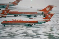 Toronto Pearson 29.12.1989, C-FTLO, DC-9-32, Air Canada. Photo Roland Büsser Tupolev Tu 144, Air Transat, International Airlines, Boeing Aircraft, Air Photo, Air Lines, Commercial Aircraft, World Pictures, Concorde