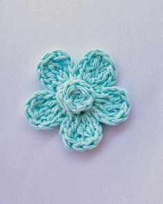 Flower Girl Cottage: Free Crochet Flower Pattern   4x crochet stitch is a double treble ( TR is treble not triple)