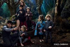 Evandro Soldati Appears in Dolce & Gabbana Fall/Winter 2014 Childrens Campaign