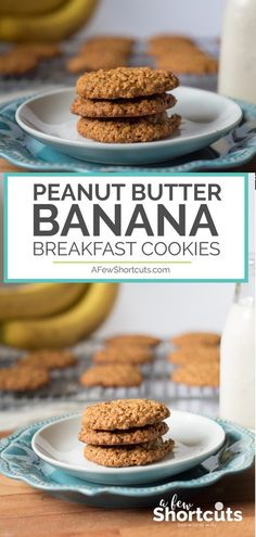 Home Made Doggy Foodstuff FAQ's And Ideas Cookies For Breakfast? Truly Try This Peanut Butter Banana Breakfast Cookies Recipe They Are Perfect Anytime Of Day And Can Be Made Gluten Free Banana Breakfast Cookie, Breakfast Cookie Recipe, Paleo Breakfast, Breakfast Ideas, Pumpkin Breakfast Cookies, Breakfast Cooking, Breakfast Pastries, Breakfast Recipes, Baby Food Recipes