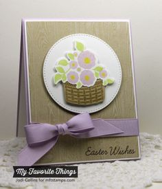 Easter Bunny, Wood Plank Background, Easter Bunny Die-namics, Stitched Circle STAX Die-namics - Jodi Collins #mftstamps