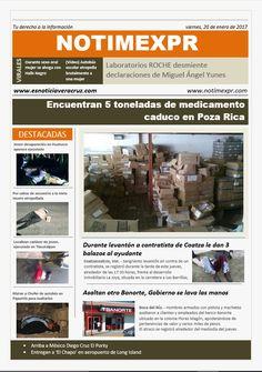 La Información más destacada con NOTIMEXPR. Viernes 20 de Enero - http://www.esnoticiaveracruz.com/la-informacion-mas-destacada-con-notimexpr-viernes-20-de-enero/