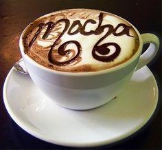 .·:*¨¨*:·.Coffee ♥ Art.·:*¨¨*:·. Mocha latte art