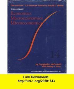 DiscoverEcon 3.0 Software Tutorial to Accompany Economics Macroeconomics Microeconomics Campbell R. McConnell, Stanley L. Brue, Gerald C. Nelson ,   ,  , ASIN: B0039D2R3S , tutorials , pdf , ebook , torrent , downloads , rapidshare , filesonic , hotfile , megaupload , fileserve