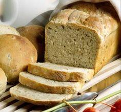 Jyväleipä leipäkoneella Banana Bread, Pancakes, Gluten Free, Desserts, Food, Glutenfree, Tailgate Desserts, Deserts, Essen